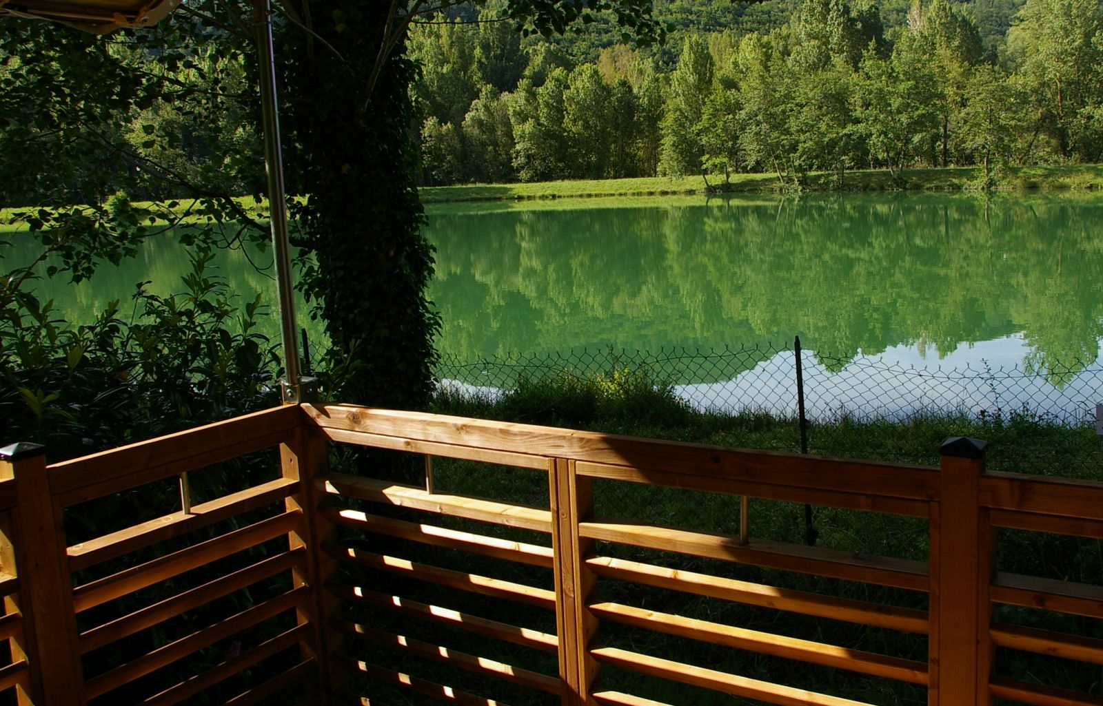 Lac-vue du lodge